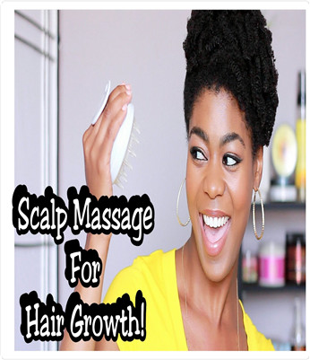 Scalp Massaging Shampoo Brush