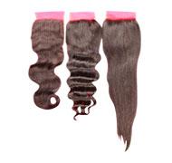 Top Lace Closure Brazilian Human Hair