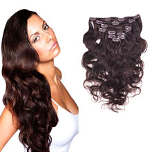 Clip in Brazilian Hair Extensions