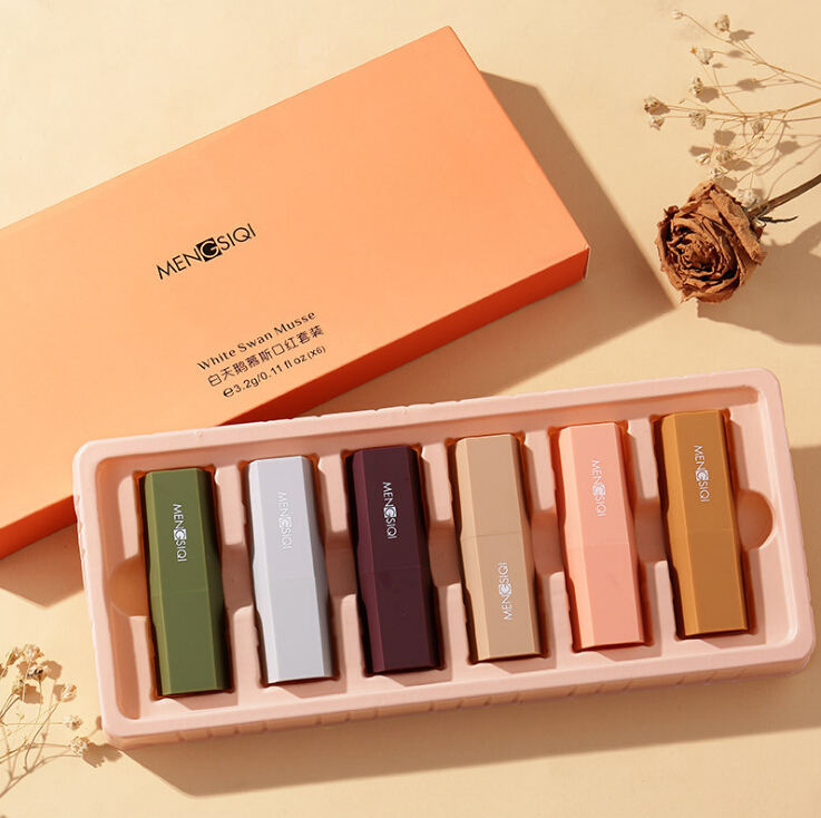 Velvet lipstick set 6pcs