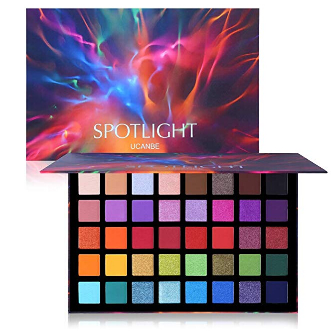 UCANBE Spotlight Eyeshadow Palette 40 Colors