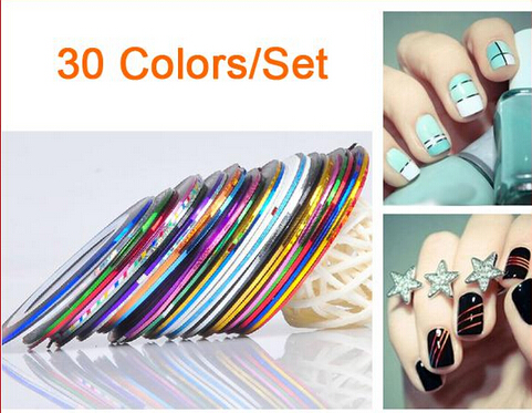 Roll Striping Tape Line Nail Art