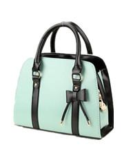 Candy Color Block Handbag