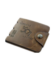 Brand Mens High Quality Leather Wallet