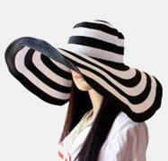 Stripe Sun Hats