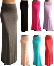 High Waist Maxi Skirts