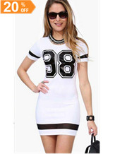 Short Sleeve Sport Dresses