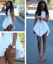 Sleeveless Asymmetric Dresses