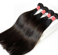 Straight Naturl Color Hair Weft