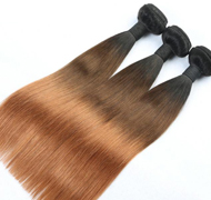 Ombre Hair Straight Hair Weaves