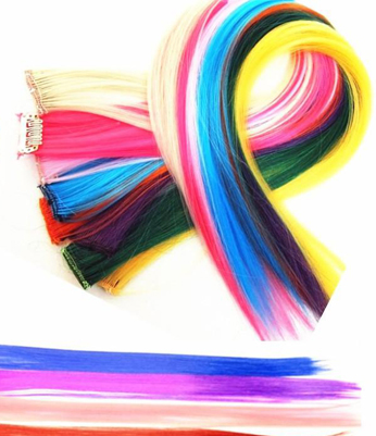 Colorful Clip-in Hair Extension