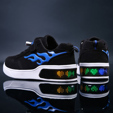 Sweety partners Colorful shoes with lights