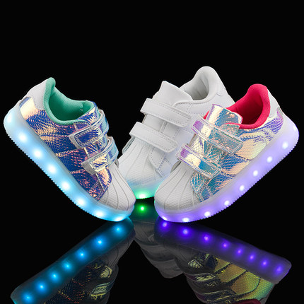 Sweety partners shoes with luminous lights