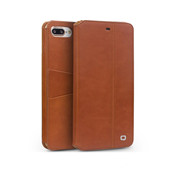 Étui pour iPhone 7 en cuir véritable Flip Wallet Ultra Thin Cover 2p pour iPhone 7 plus mode pur étui à la main 4.7 / 5.5