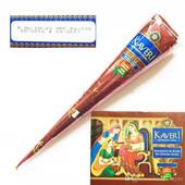 Haute qualité 25g 12 Natural India Brown Color Herbes Henna Cones Waterproof Tatouage temporaire Body Art Paint Mehndi Ink