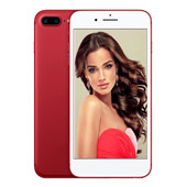 Red goophone i7 Plus 5.5inch smartphone android 6.0 montré 4G RAM 64G ROM MTK6592 octa core Unlocked 4G LTE Cellphones