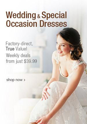 Find affordable wedding dresses on DHgate.com