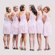 lace bridesmaid dresses deals
