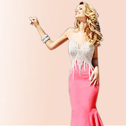 mermaid evening dresses deals