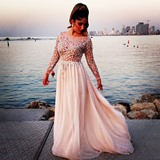 Long Sleeve Prom Dresses - Wholesale Long Sleeve Prom Gowns from ...