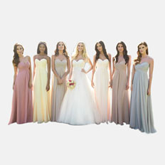 chiffon bridesmaid dresses deals