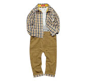 Boys' 3-piece Grid Classic Outfit Sets