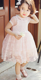 Girls' Lace Princess Dresses