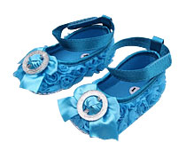 Baby Girls' Shoes w/Bow