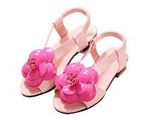 Girls' Floral Sandals