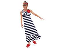 Girls' Striped Beach Dresses