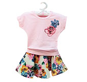 Girls' Floral Outfit Sets