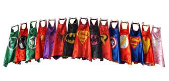 Superhero Cosplay Capes