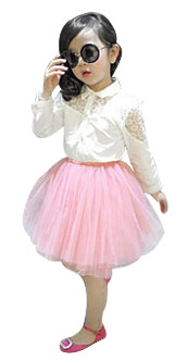 Girls' Lace Outfit Sets