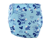 Mickey Printing Cloth Diaper