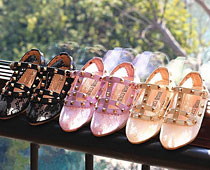 Girls' Lace Sandals
