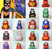 Superhero Capes&Masks