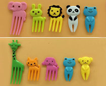 Animals Food Picks and Forks
