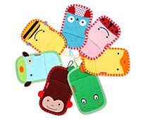 Animal Cartoon Bath Gloves