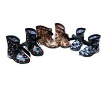 Girls' Skull Crystal Boots