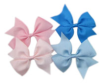 Rainbow Color Hair Bow Accessories