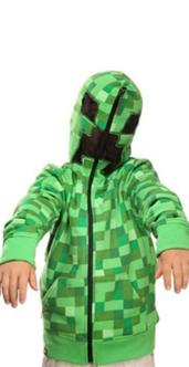 MINECRAFT Creeper Hoodies