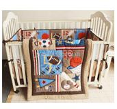 Baby Cot Crib Bedding Set