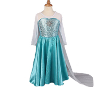 Sequin Princess Dresses