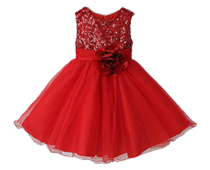 Sequin Ruffle Party Dresses
