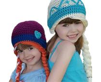 Princess Crochet Hats