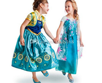 Girls' Princess Cosplay Dresses