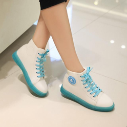 2015 Vintage Women Sneakers Luminous Tenis Shoes
