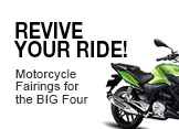 Revive Your Ride: Motorcycle Fairings For The BIG Four