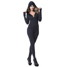 Sexy Ninja Hooded Catsuit