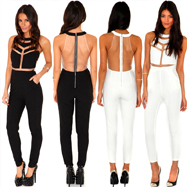 Hollow Out Jumpsuits